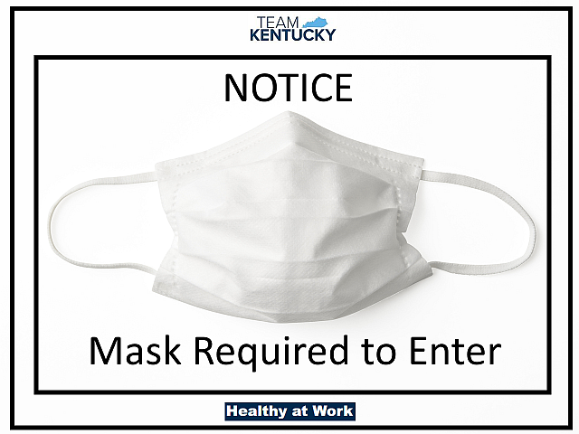 Mask Required to Enter